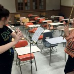 Flutist and student musician