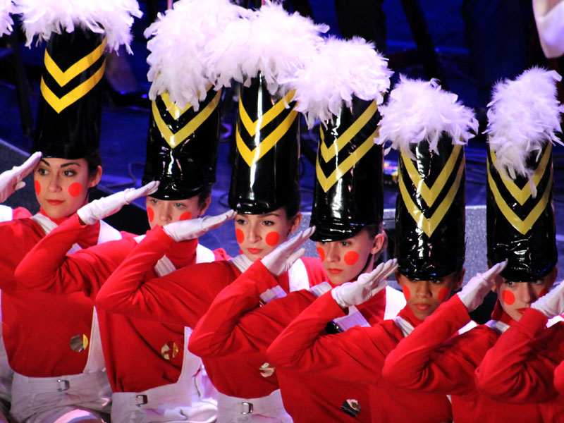 the Parade of the Wooden Soldiers
